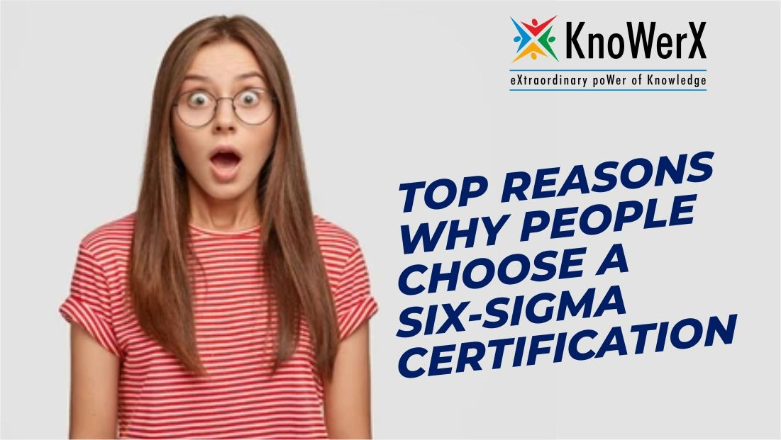 TOP REASONS WHY PEOPLE CHOOSE A SIX-SIGMA CERTIFICATION IN SUPPLY CHAIN MANAGEMENT